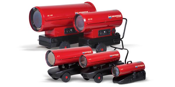 Generatori mobili a combustione diretta – GE