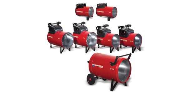 Generatori aria calda a GPL