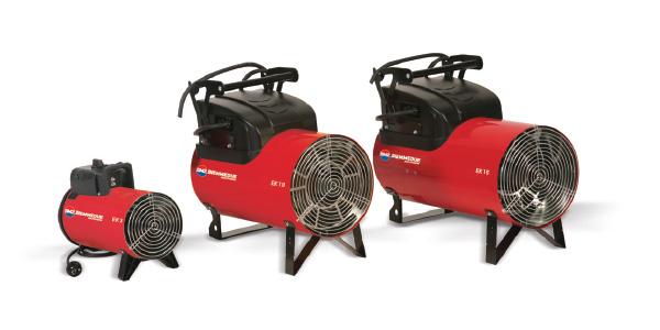 Generatori mobili di aria calda a corrente elettrica – EK