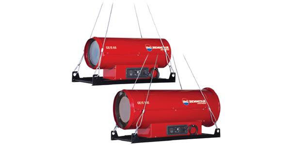 Generatori di aria calda sospesi – GE/S