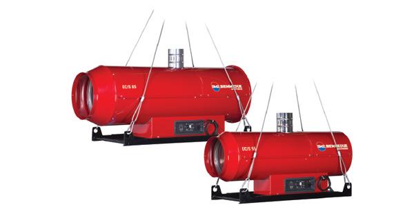 Generatori di aria calda sospesi – EC/S