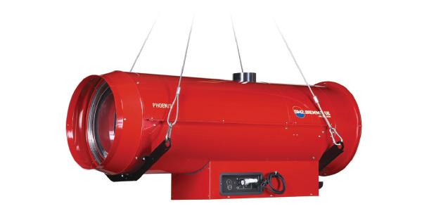 Generatori di aria calda sospesi – PHOEN/S