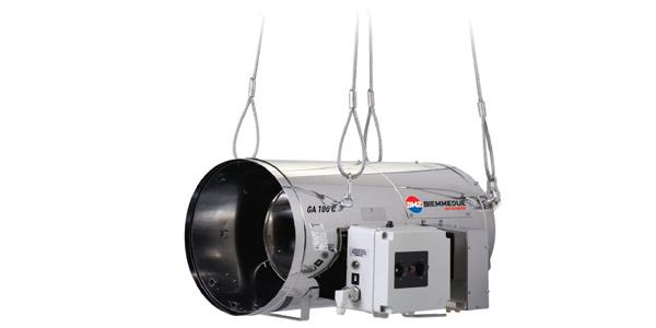 Generatori di aria calda pensili – GA