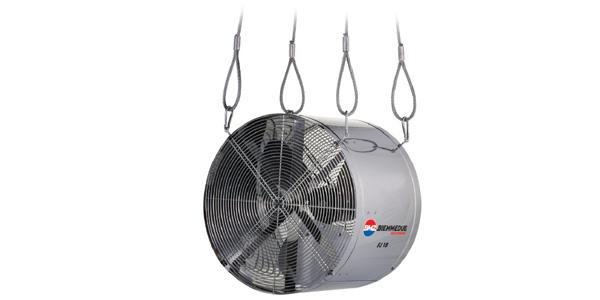 Ventilatori industriali assiali