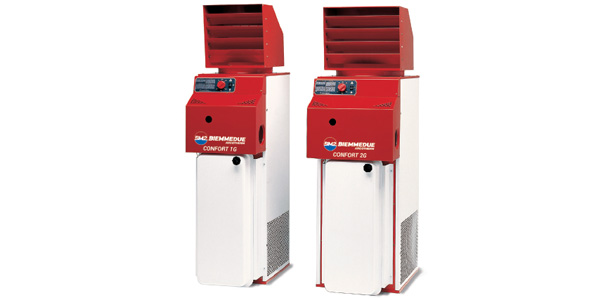 Generatori di aria calda fissi – CONFORT