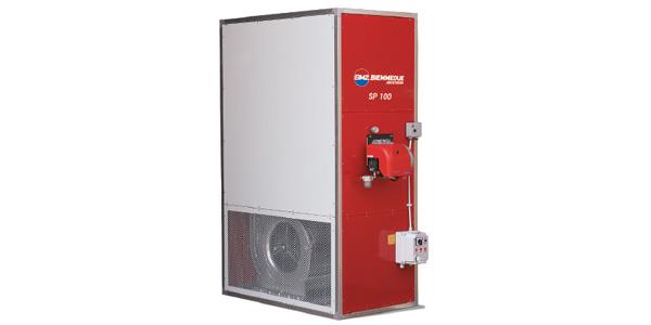 Generatori di aria calda fissi – SP
