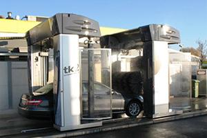 Lavaggio auto self service a portale