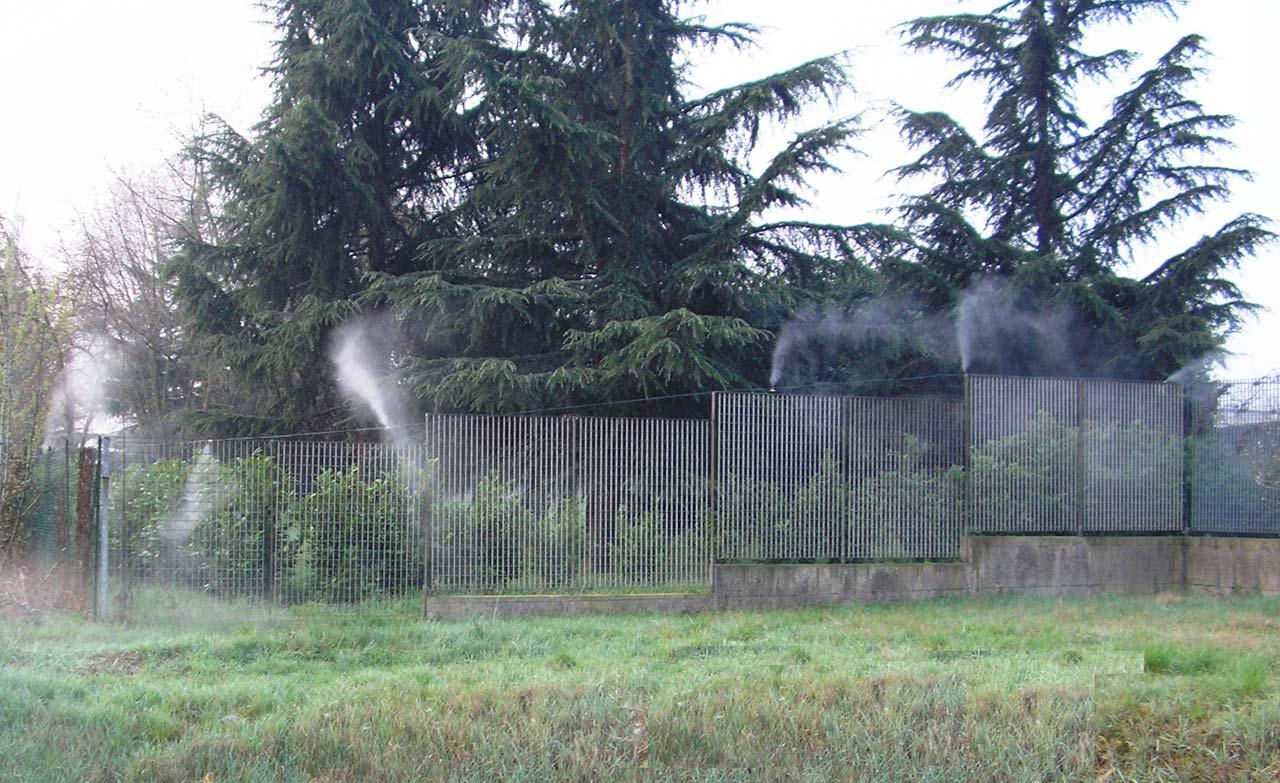 Impianti di nebulizzazione per abbattimento odori
