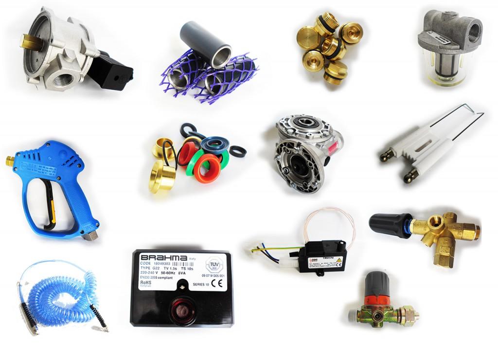 Ricambi per impianti di lavaggio e autolavaggi self service
